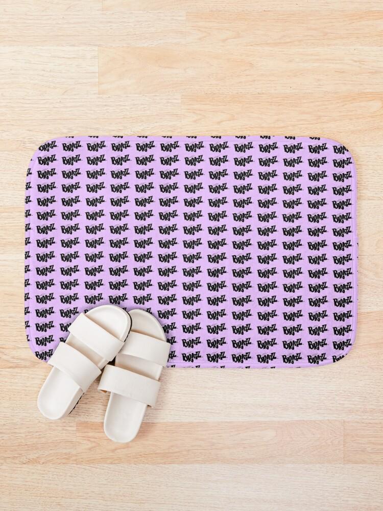 Alternate view of Pastel Purple Bratz Pattern Bath Mat