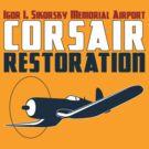 Sikorsky Memorial Airport Corsair Restoration by warbirdwear