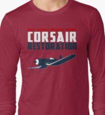 Sikorsky Memorial Airport Corsair Restoration T-Shirt