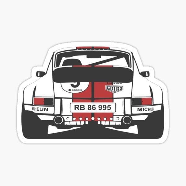 Porsche 911 Glossy Sticker
