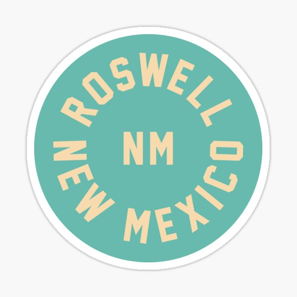 ROSWELL - MEW MEXICO - NM Sticker