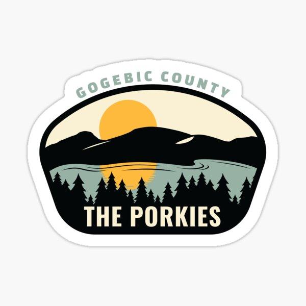 Michigan's Porcupine Mountains Sticker