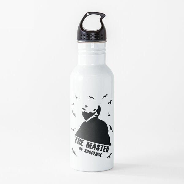 Alfred Hitchcock Portrait Water Bottle