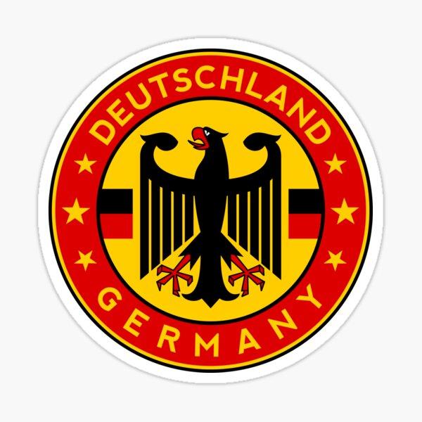 Germany, Deutschland Sticker