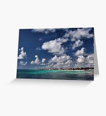 Beach near Playa de Carmen Greeting Card