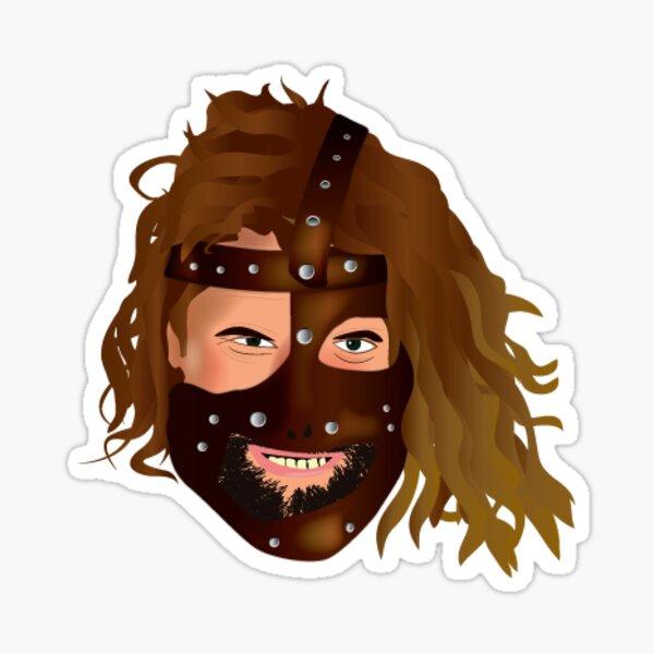 Mankind Face Sticker