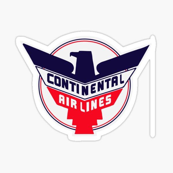 Continental Airline Sticker