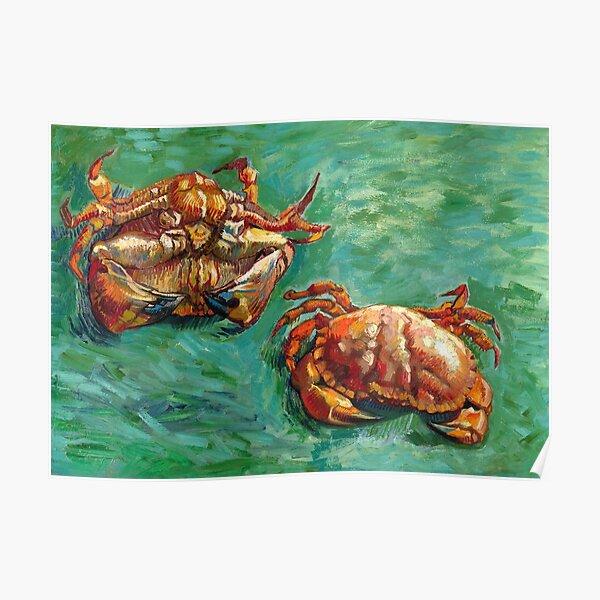 Vincent van Gogh - Two Crabs Poster
