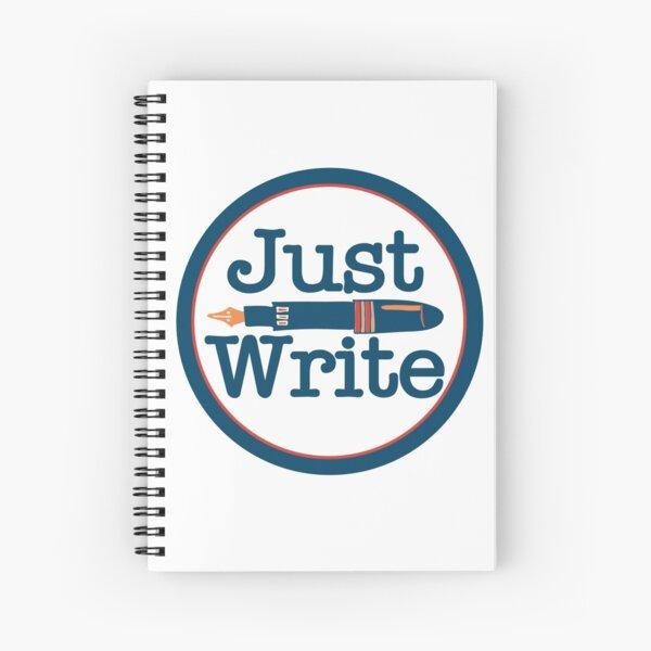Just Write Spiral Notebook