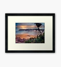 St Brelades Bay, Jersey Framed Print