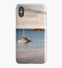 Offshore mooring iPhone Case