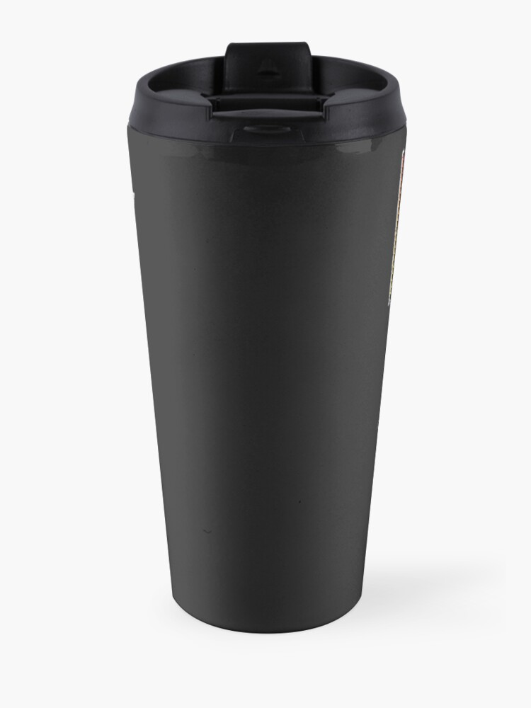 Alternate view of Hiss Kiss - Cats Rock Band Travel Mug