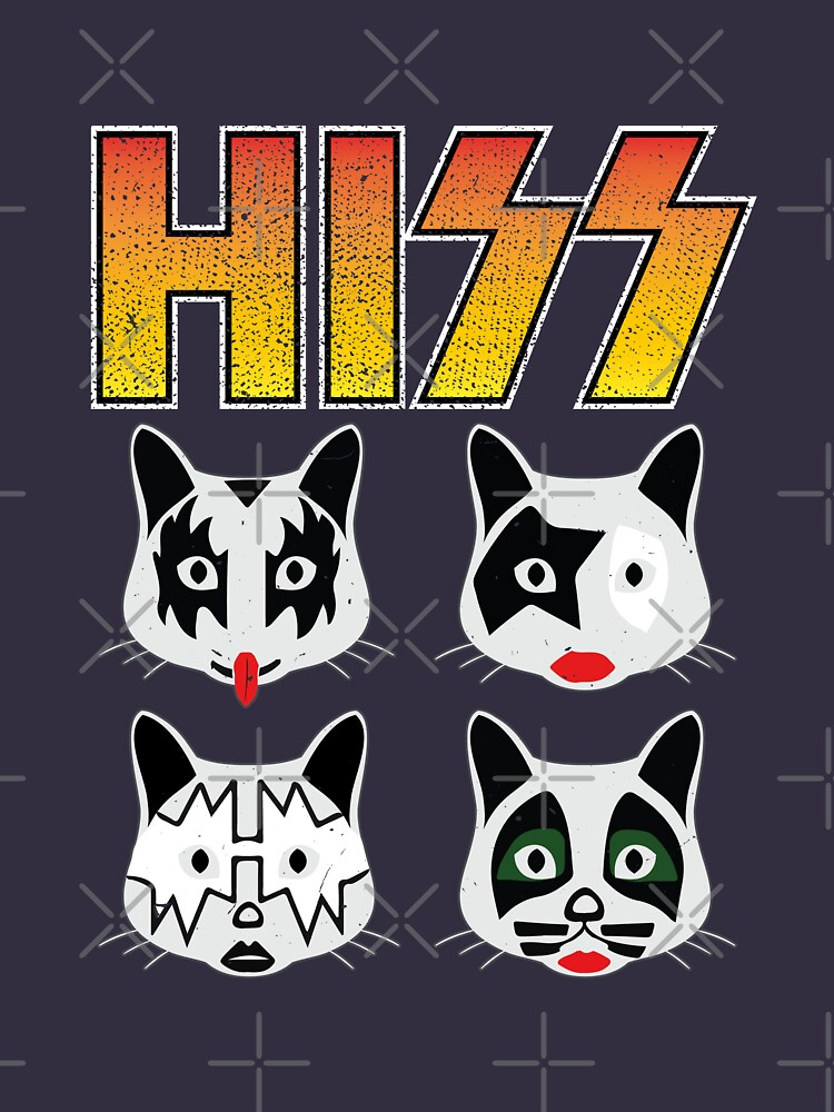 Hiss Kiss - Cats Rock Band by NinjaDesignInc