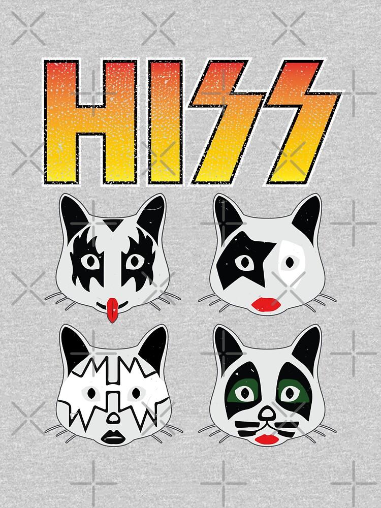 Hiss Kiss - Cats Rock Band by NinjaDesignInc