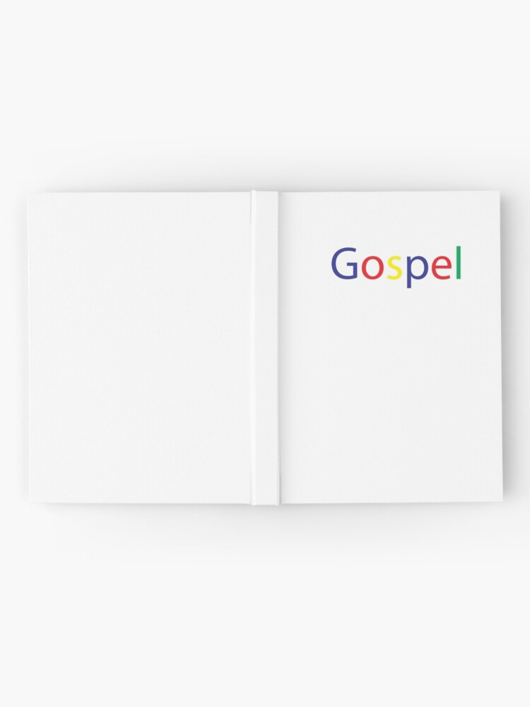 Alternate view of Gospel in Google Colors Hardcover Journal