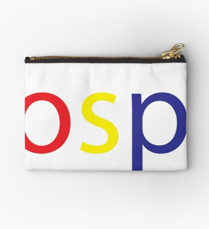 Gospel in Google Colors Zipper Pouch
