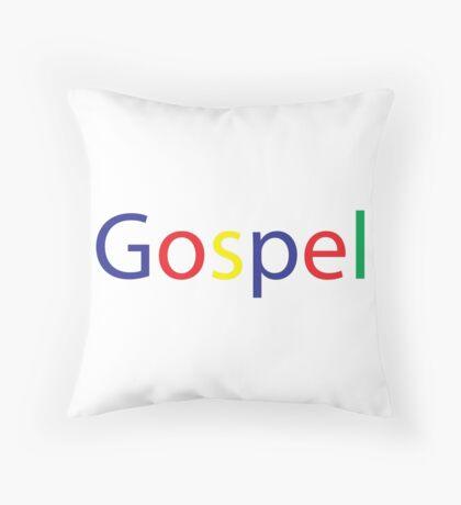 Gospel in Google Colors Floor Pillow