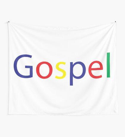 Gospel in Google Colors Wall Tapestry