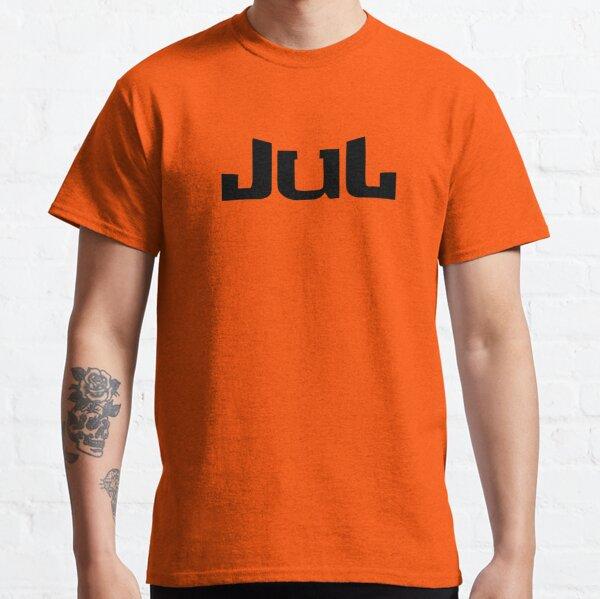JUL logo noir T-shirt classique