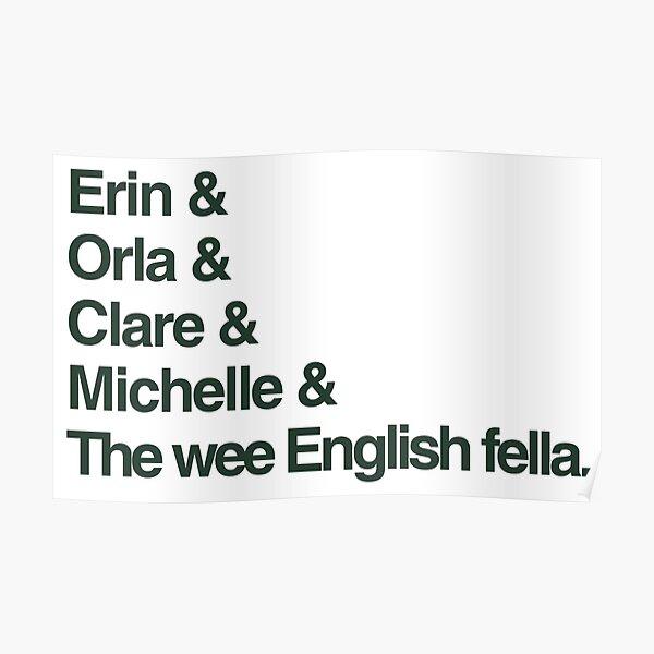 Derry Girls - The Gang Poster