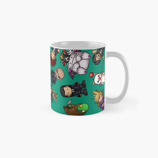 Final Fantasy VII PixelArt Classic Mug