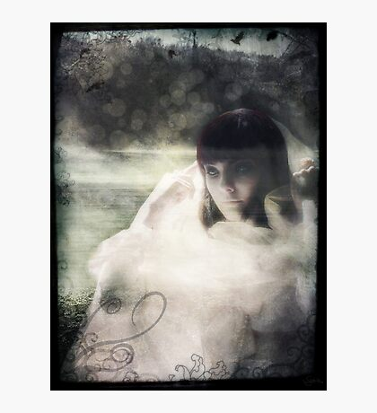 Woman in White Photographic Print