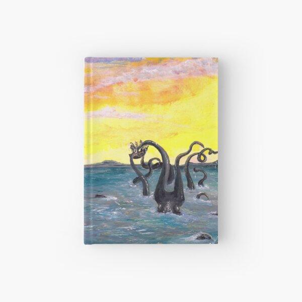 Kraken by the Lighthouse Hardcover Journal