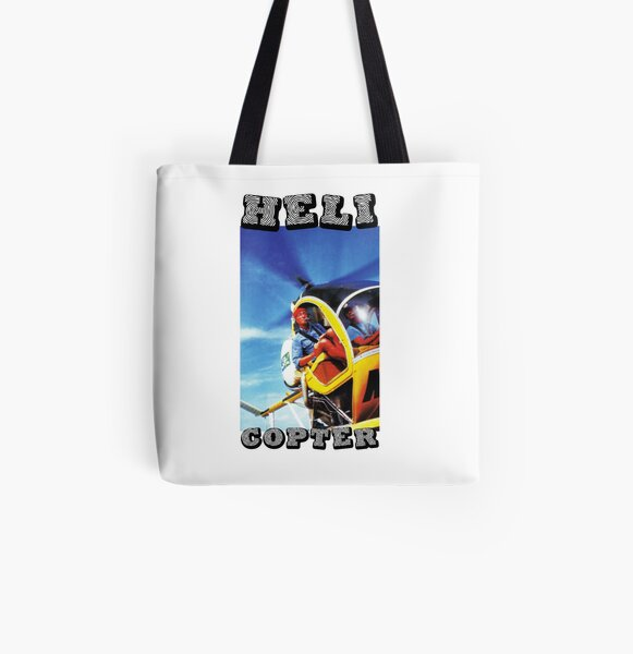 HeliCopter All Over Print Tote Bag