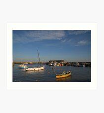 Bridlington Harbour No2 Art Print