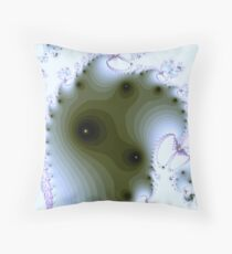 Softie Blue Throw Pillow