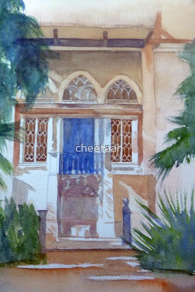 The Blue Balcony by cheetaah