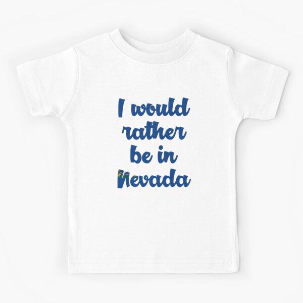 Mashed Clothing Make Nevada Great Again MAGA Trump Republican Toddler//Kids Short Sleeve T-Shirt