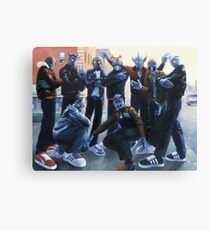 Cold Lampin' Canvas Print