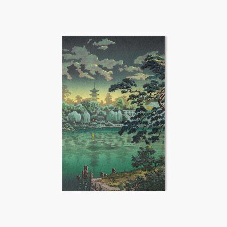 Tsuchiya Koitsu - Ueno Shinobazu Pond Art Board Print