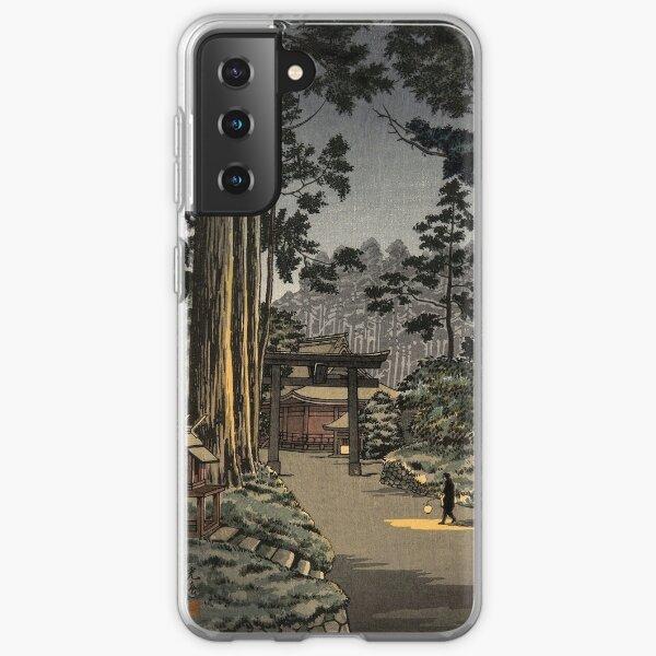 Tsuchiya Koitsu - Futarasan, Nikko, Mountain Temple Samsung Galaxy Soft Case