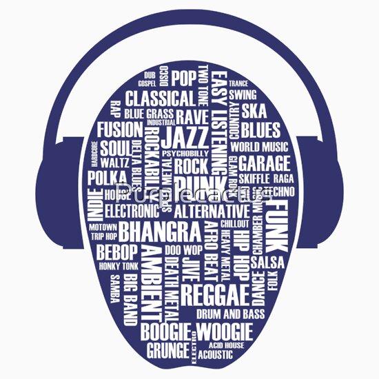 TShirtGifter presents: I love music