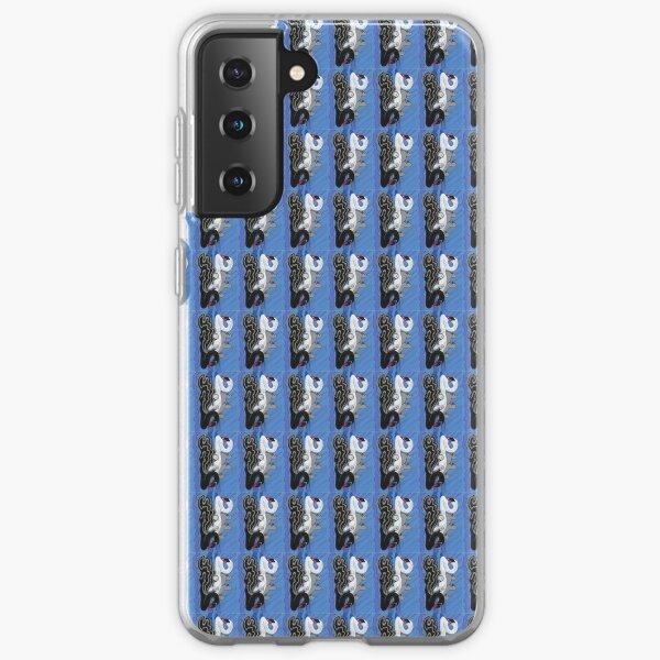 Seven Swans Swimming Samsung Galaxy Soft Case