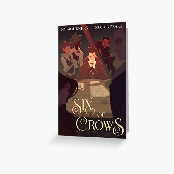 Six of Crows Movie Poster Greeting Card