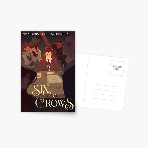 Six of Crows Movie Poster Postcard