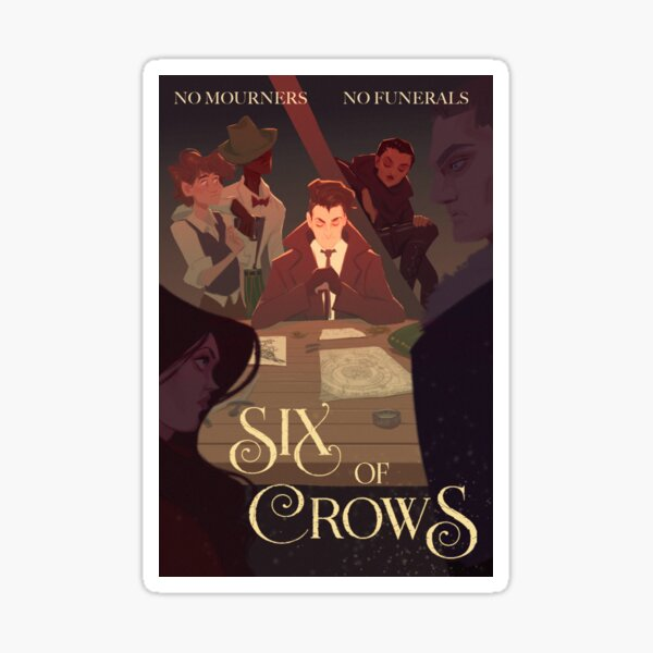 Six of Crows Movie Poster Sticker