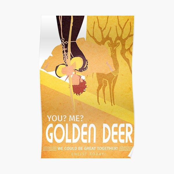 Golden Deer Poster