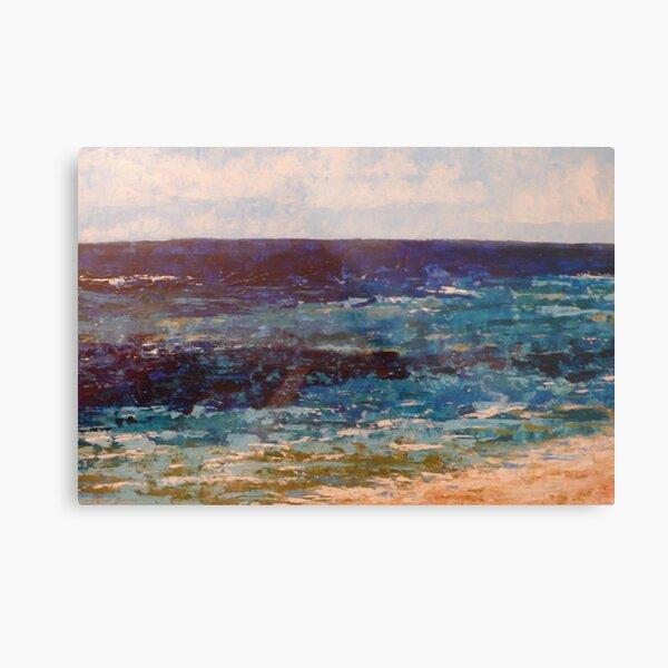 Lagoon, Shelley beach Metal Print