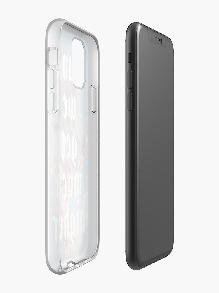 coque iphone 8 vintage | Coque iPhone «pouvons-nous obtenir beaucoup plus élevé / / kanye», par Barbzzm