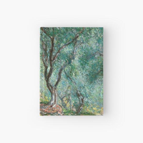 Claude Monet - Olive Tree Wood in Moreno Garden Hardcover Journal