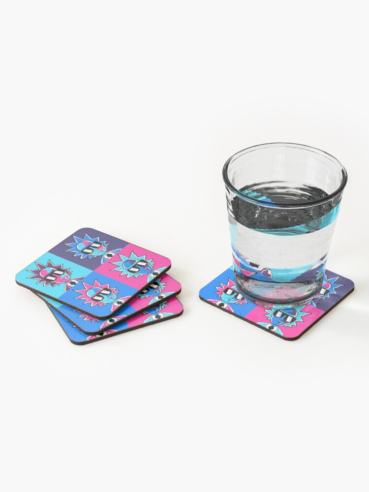 Alternate view of Rick and Morty - Rick Sanchez  Coasters (Set of 4)
