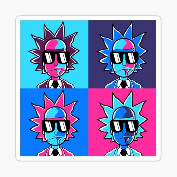 Rick and Morty - Rick Sanchez  Sticker