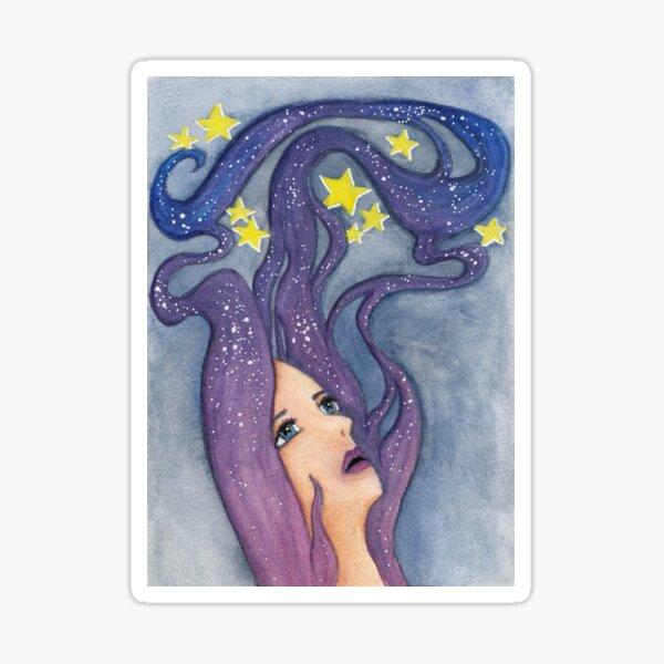 Galaxy Dreamer Sticker