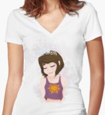 I Have a Dream Women's Fitted V-Neck T-Shirt