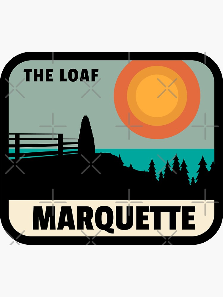 Marquette Sugarloaf Mountain The Loaf by AutoCtyArtworks
