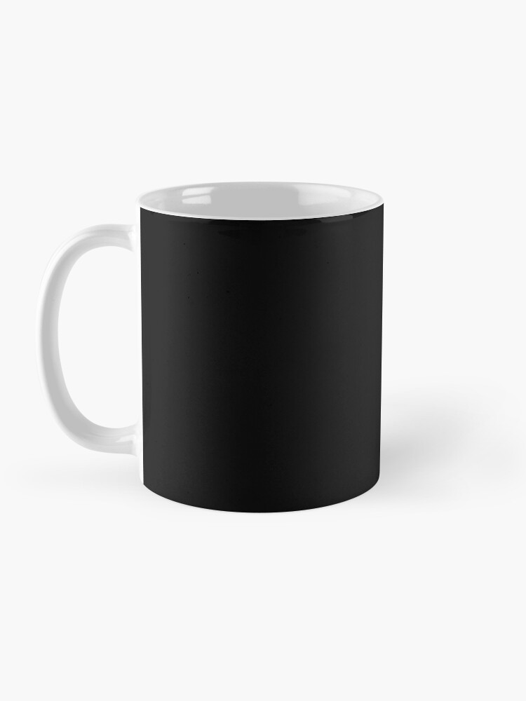 Alternate view of Own Your Style - Black and white monoline script hand lettering  Mug